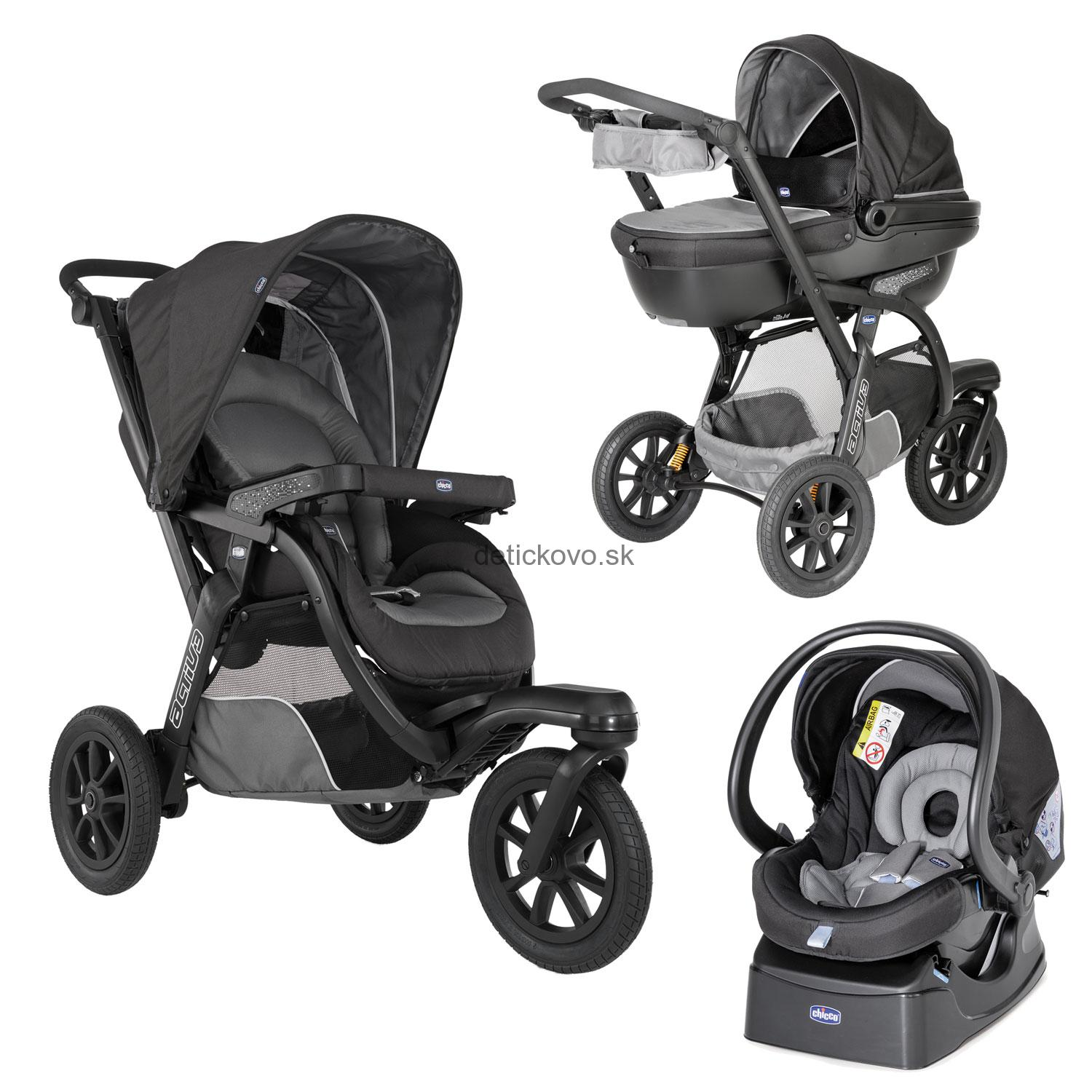 CHICCO - TRIO Activ3 - Grey