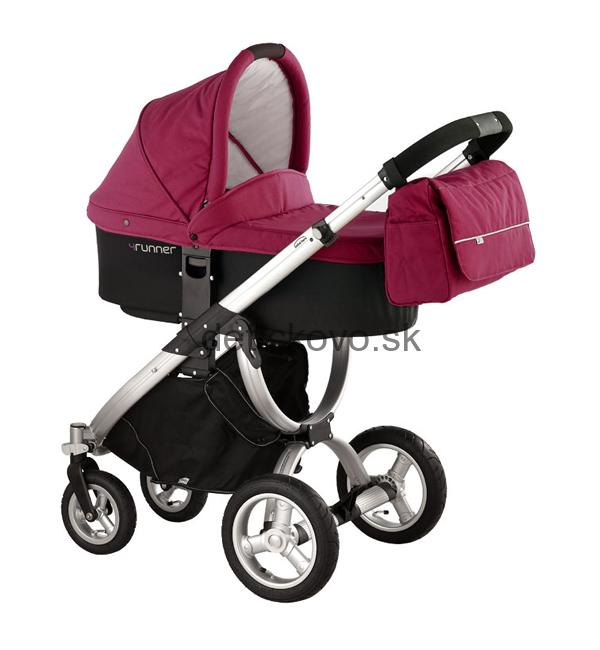 Bebé Beni - 4Runner 2 SET fuchsia rouge