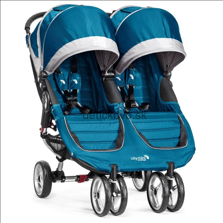 BabyJogger - Citi Mini Double Teal / Gray