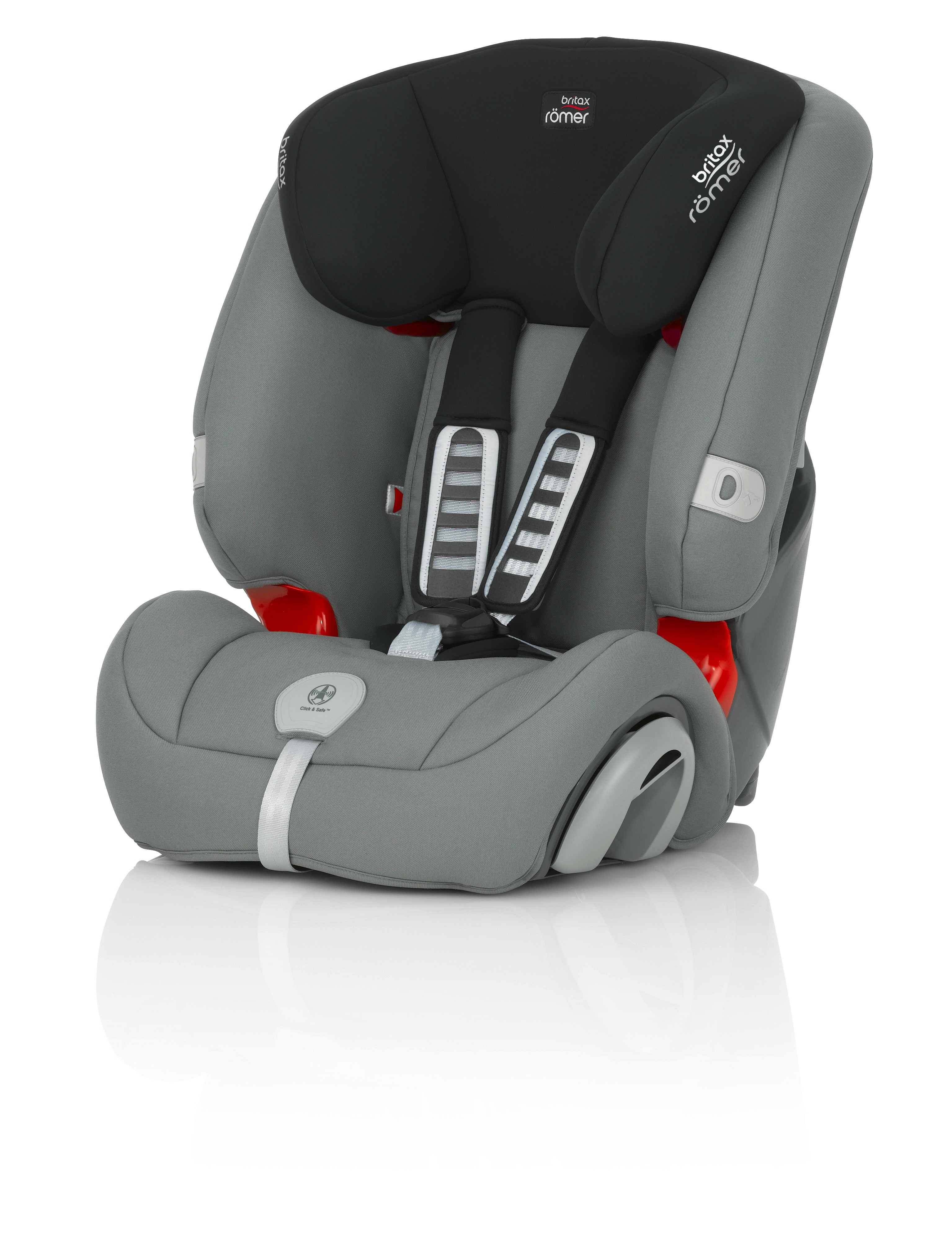 Britax Evolva 1-2-3 plus 2016 - Steel Grey