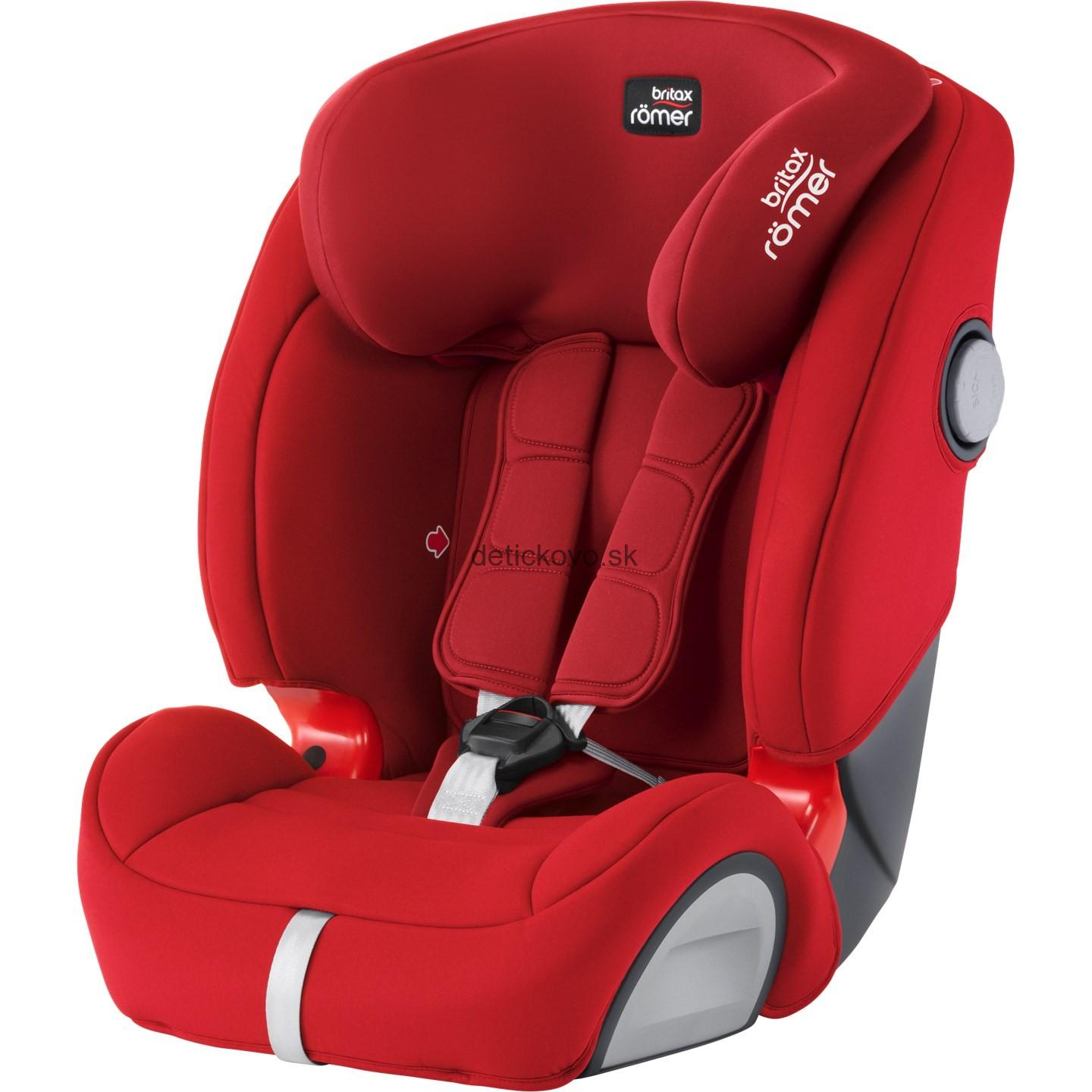Britax Romer Evolva 1-2-3 SL SICT - Flame Red