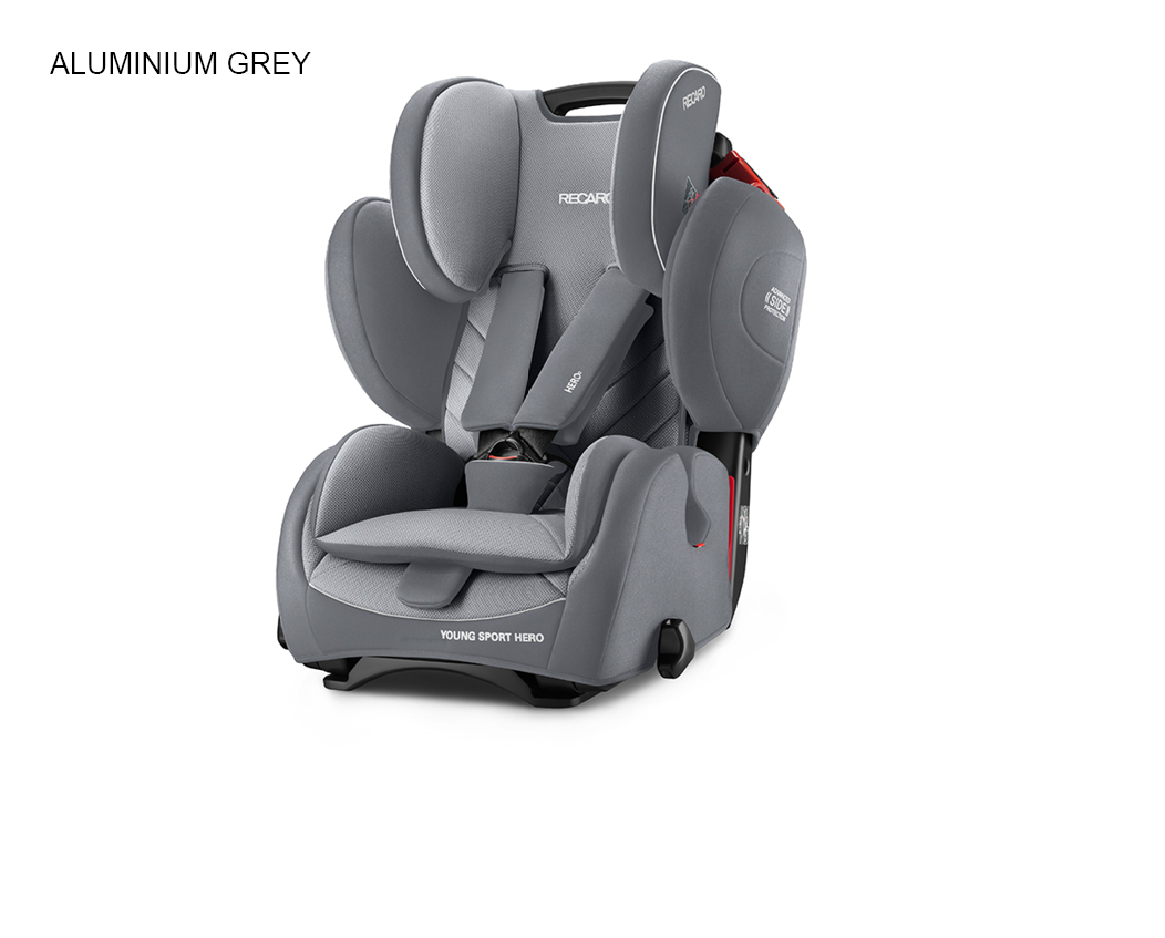 Recaro Young Sport HERO - Aluminium Grey