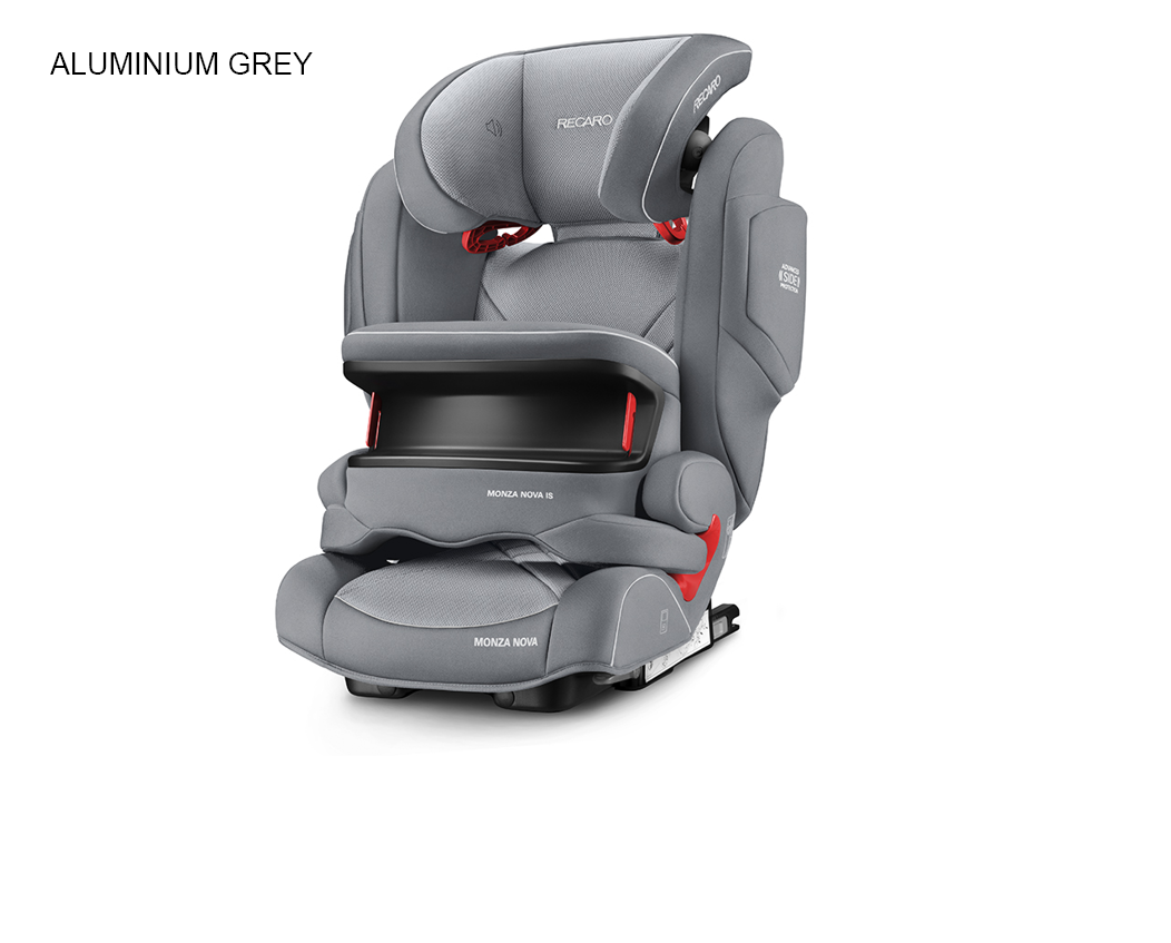 Recaro Monza Nova IS - Aluminium Grey
