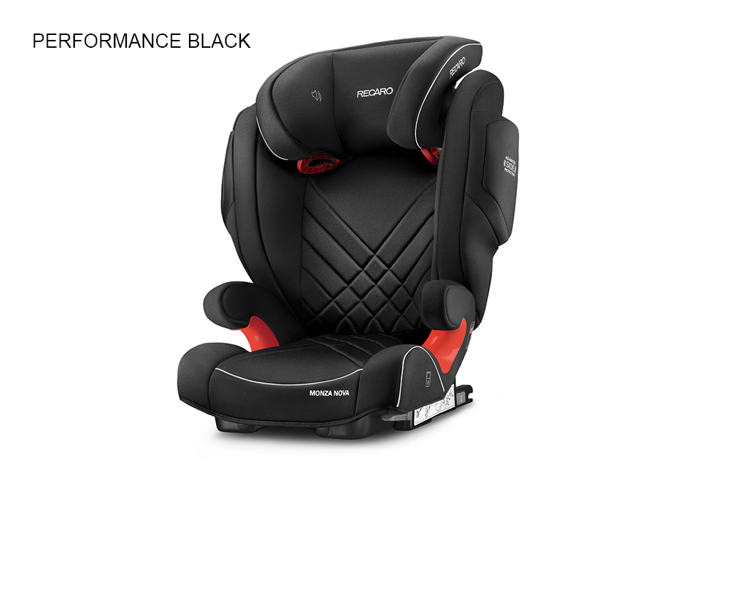 Recaro Monza Nova 2 Seatfix - Performance Black