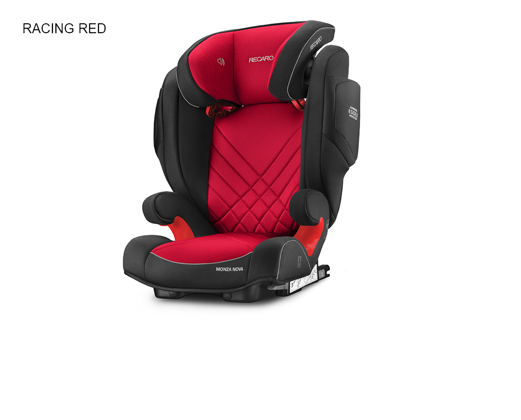 Recaro Monza Nova 2 Seatfix - Racing Red