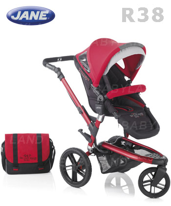 JANÉ - SILLA  TRIDER  EXTREME - R 38 DEEP RED