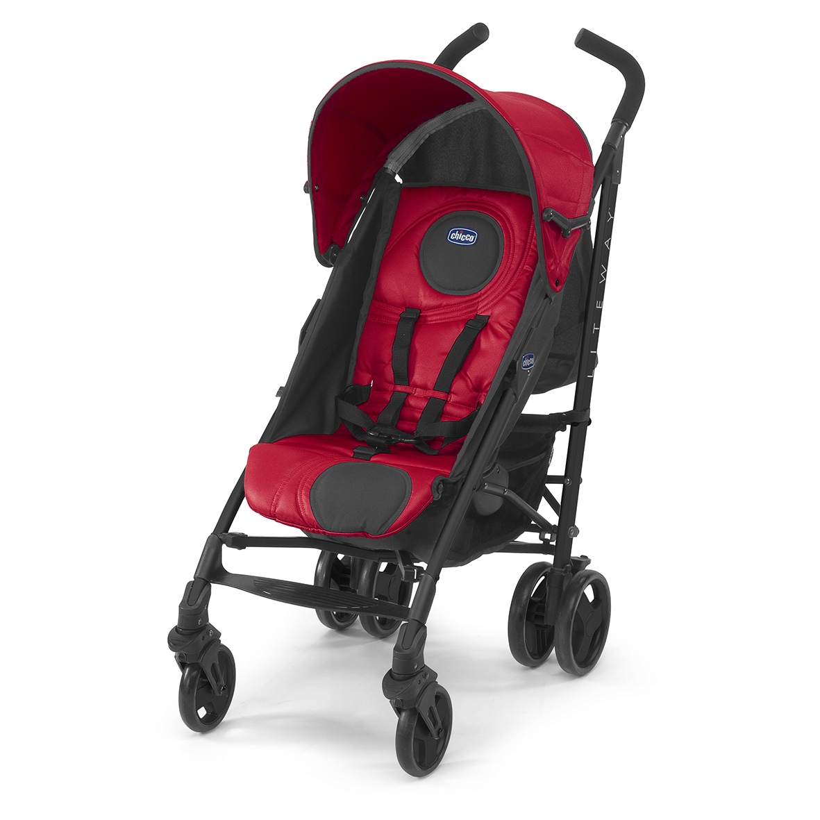 Chicco Lite Way Complete - Red Wave