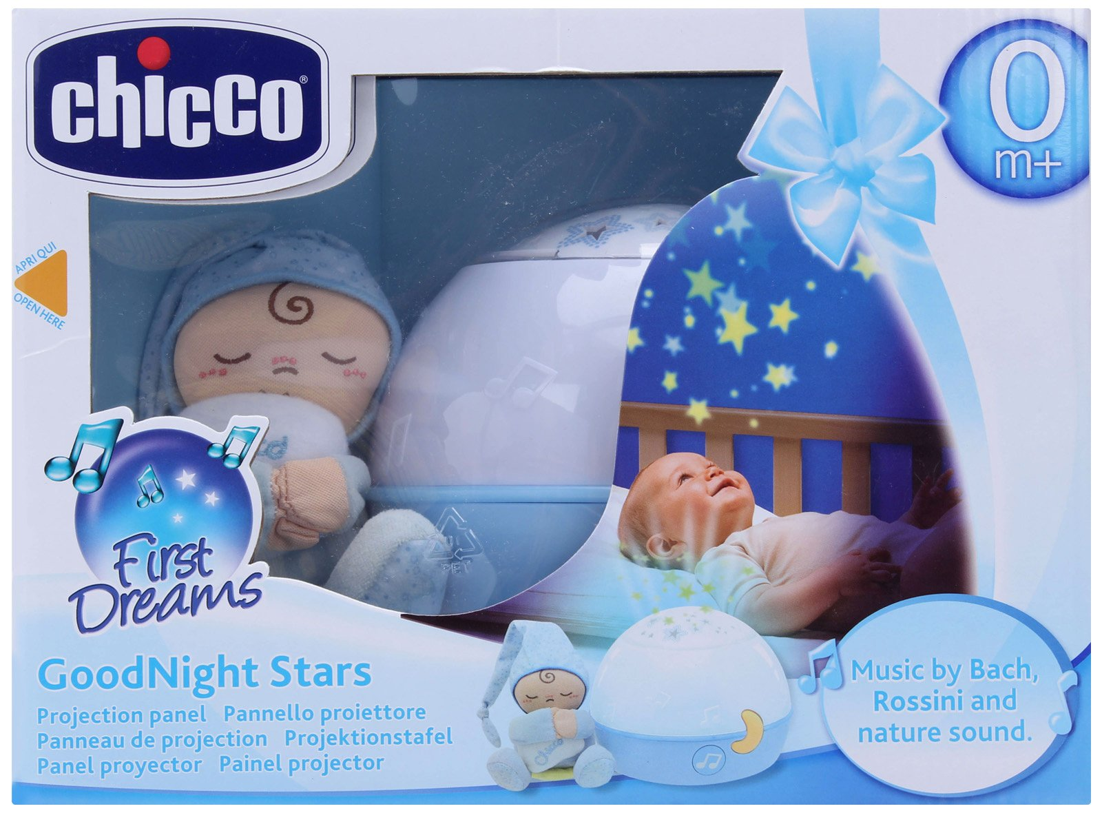 Chicco - Projektor Good Night - modré