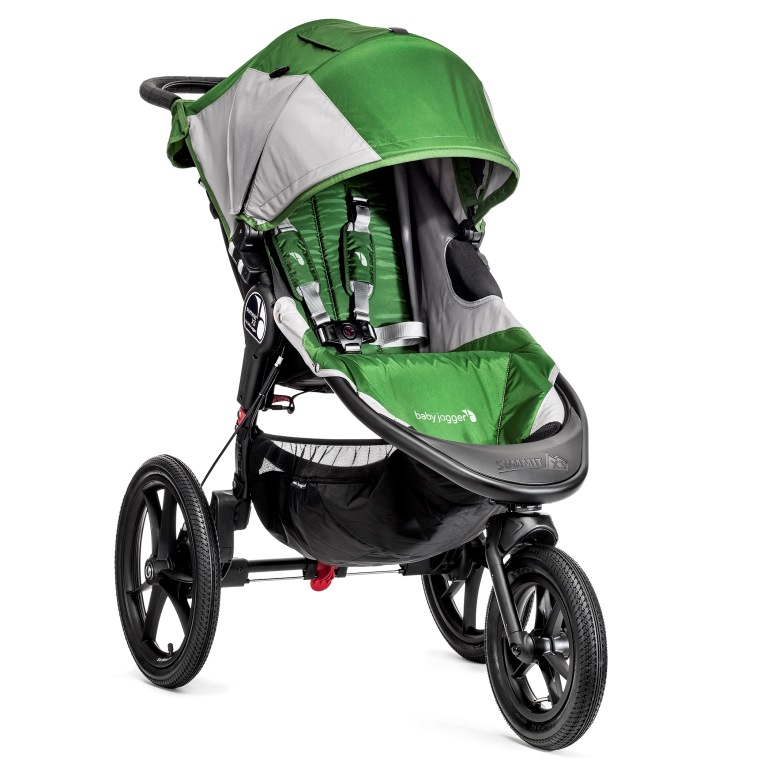 BabyJogger Summit X3 Green / Gray