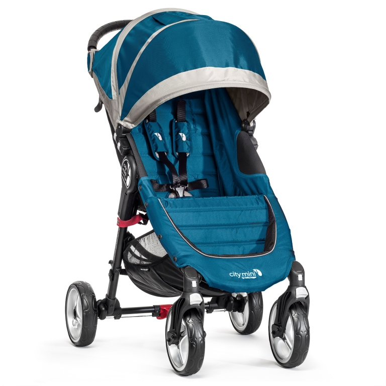 BabyJogger - City Mini 4 - kolesá Teal / Gray