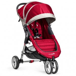 BabyJogger - City Mini  Crimson / Gray