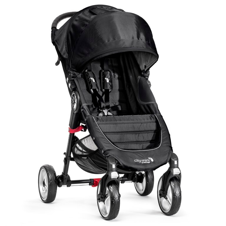 BabyJogger - City Mini 4 - kolesá  Black / Gray