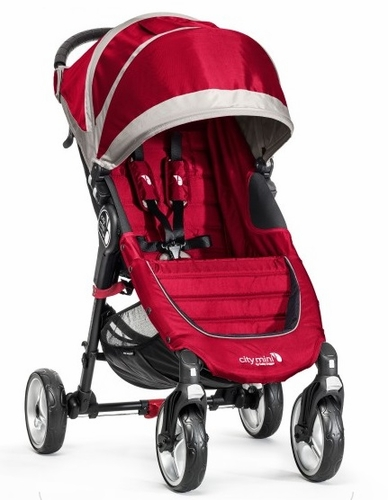 BabyJogger - City Mini 4 -  Crimson / Gray