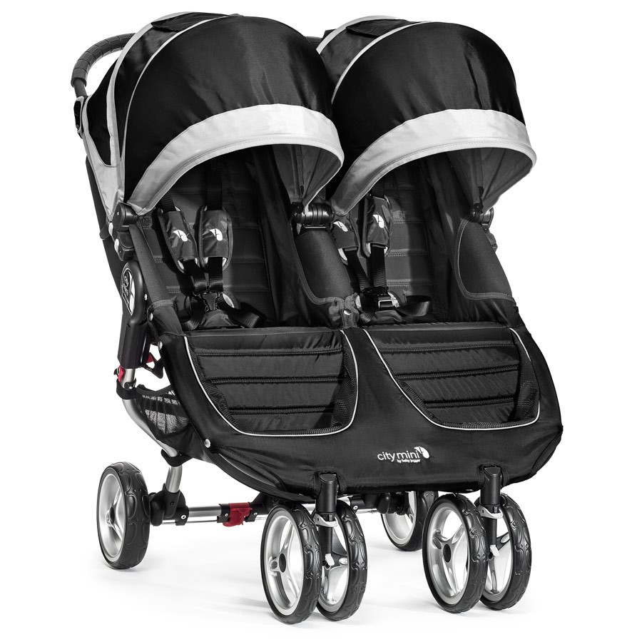 BabyJogger Citi Mini Double - Black/Grey