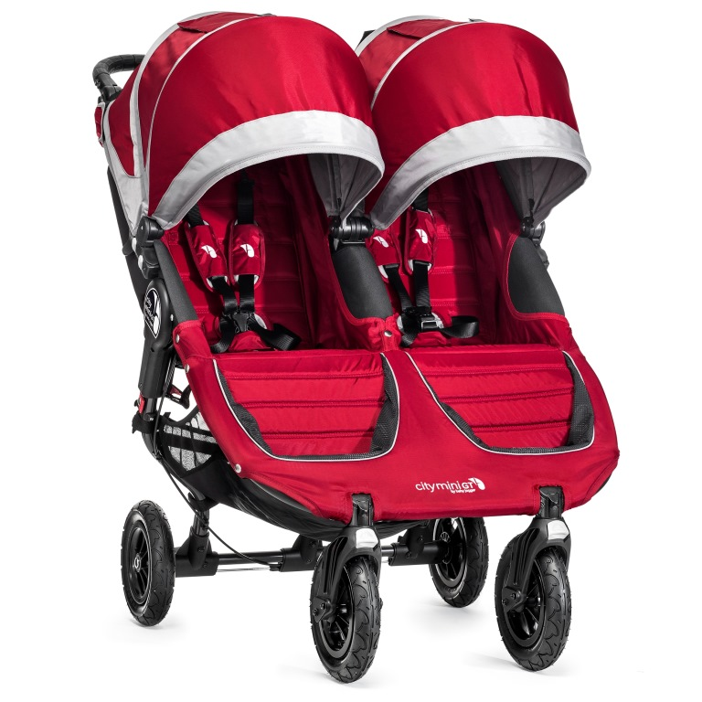 BabyJogger Citi Mini GT Double - Crimson/Grey