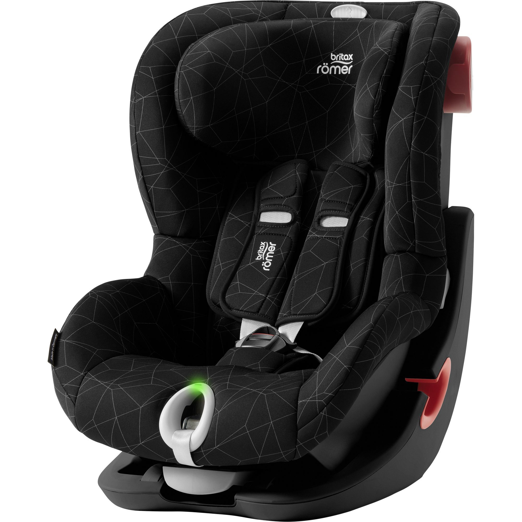 Britax Römer King II LS Black - Crystal Black