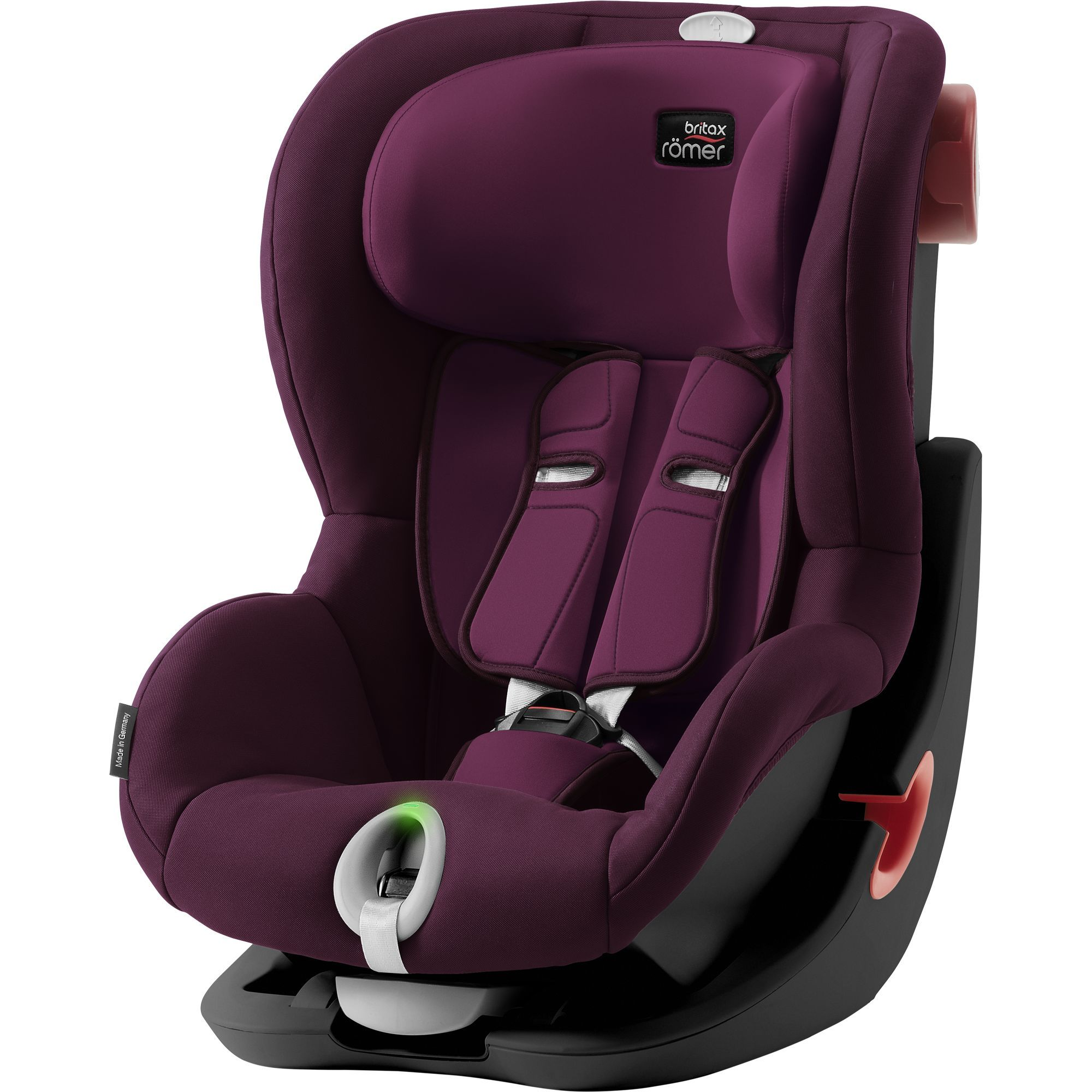 Britax Römer King II LS Black - Burgundy Red