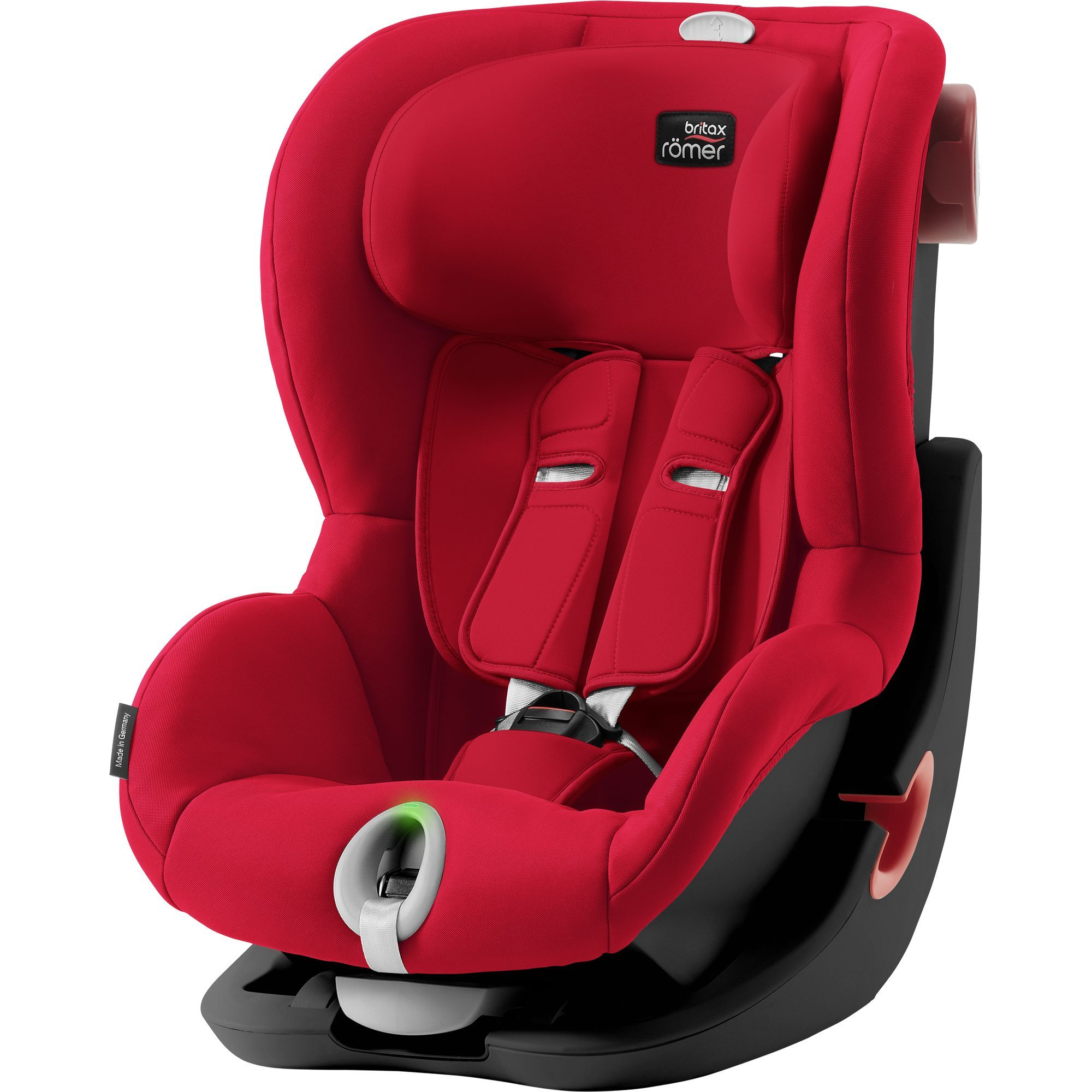 Britax Römer King II LS Black - Fire Red