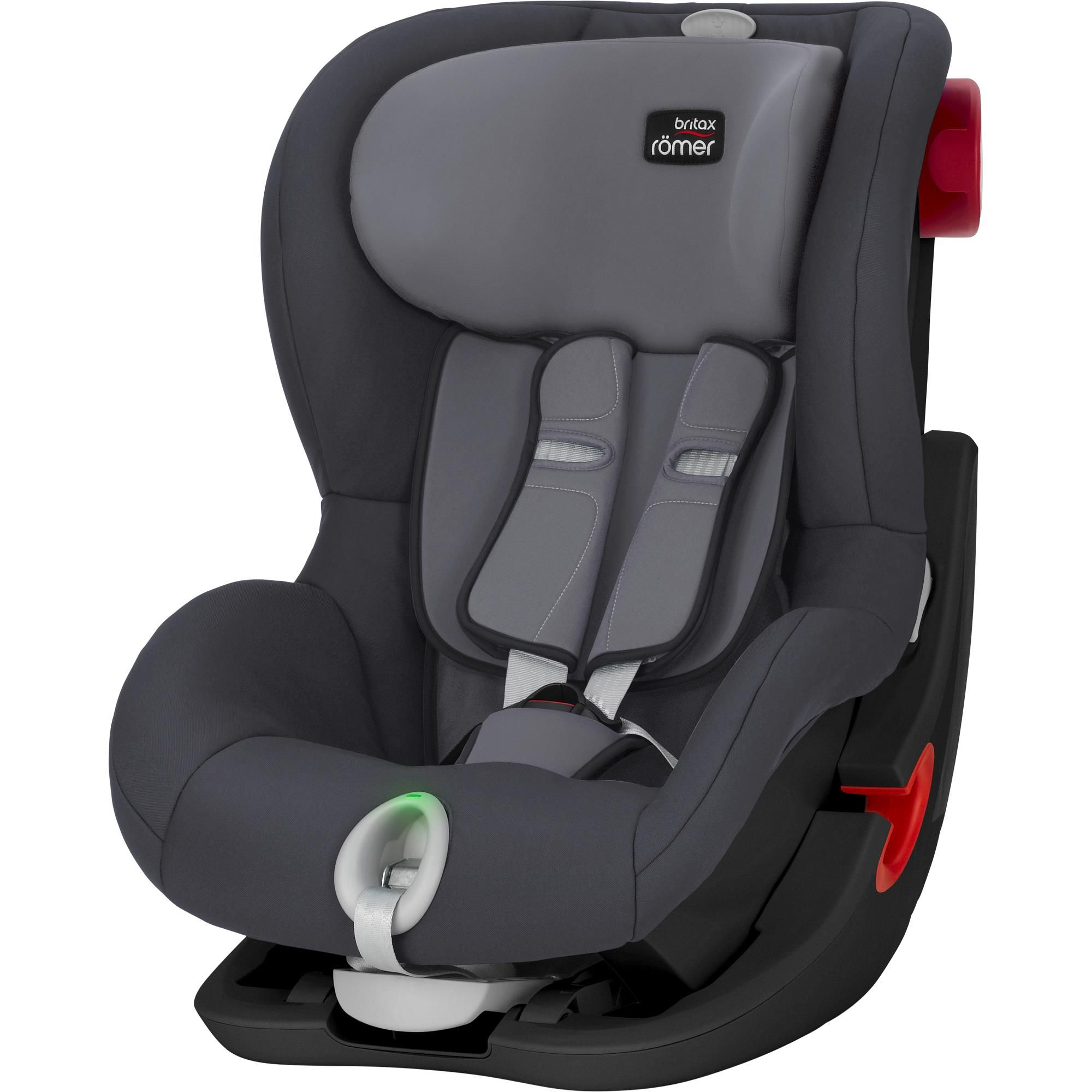 Britax Römer King II LS Black - Storm Grey