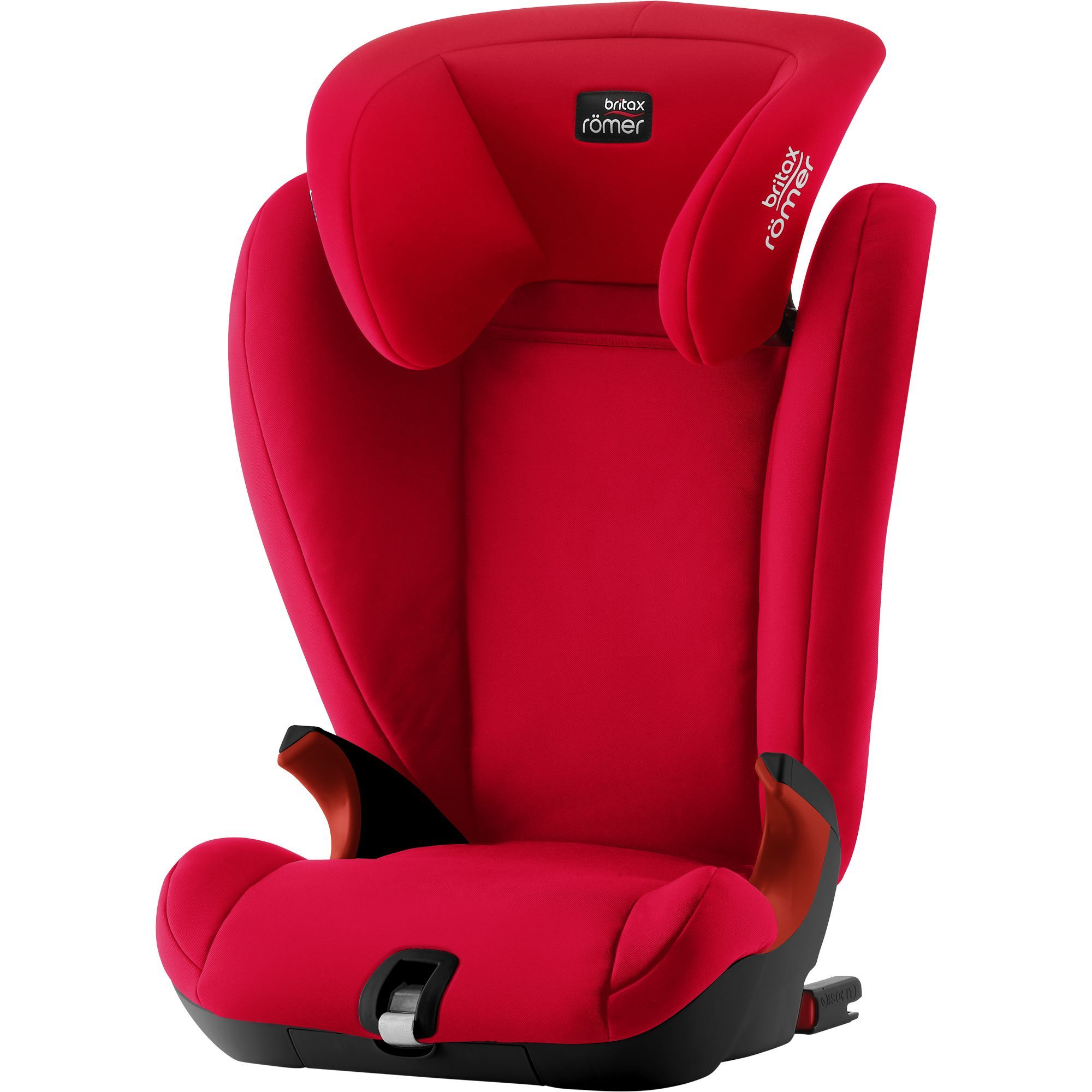 Römer KidFix SL Black - Fier Red