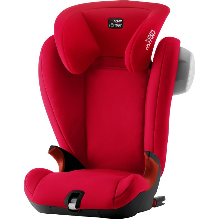 Römer KidFix SL SICT Black - Fire Red