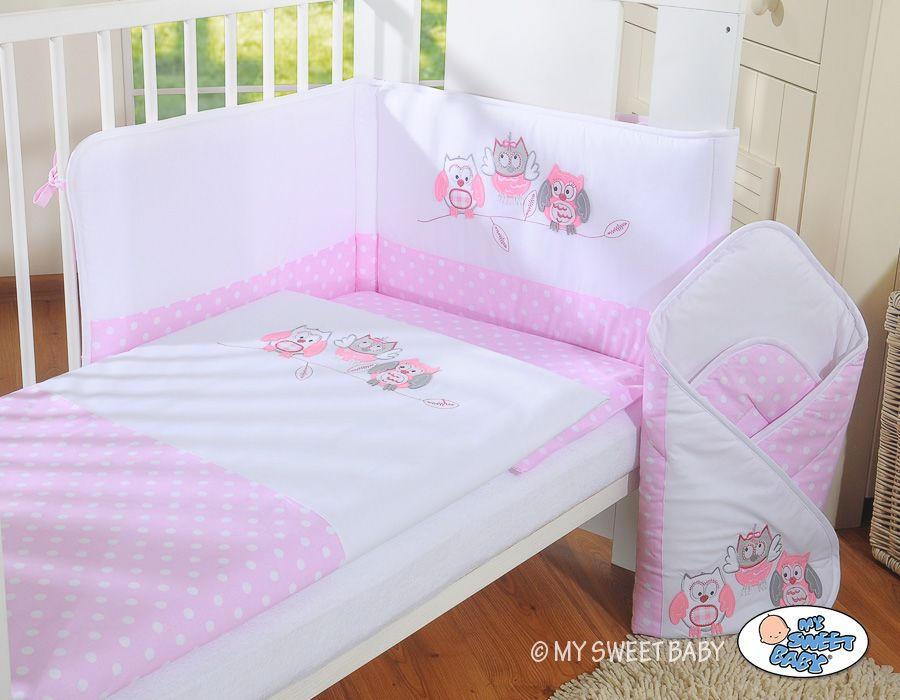 My Sweet Baby Set do postieľky 3 dielny col 426