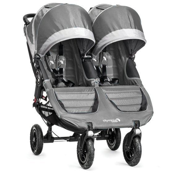 BabyJogger Citi Mini GT Double - Steel Grey