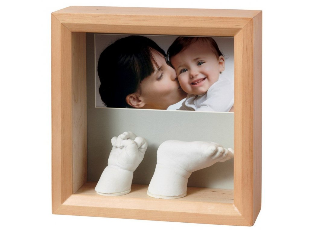 BabyArt - My Baby  Sculpture FRAME Honey