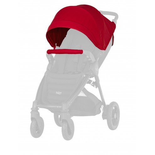 Britax farebný SET ku kočíkom B-Agile plus/B-Motion plus 2016 - Flame Red