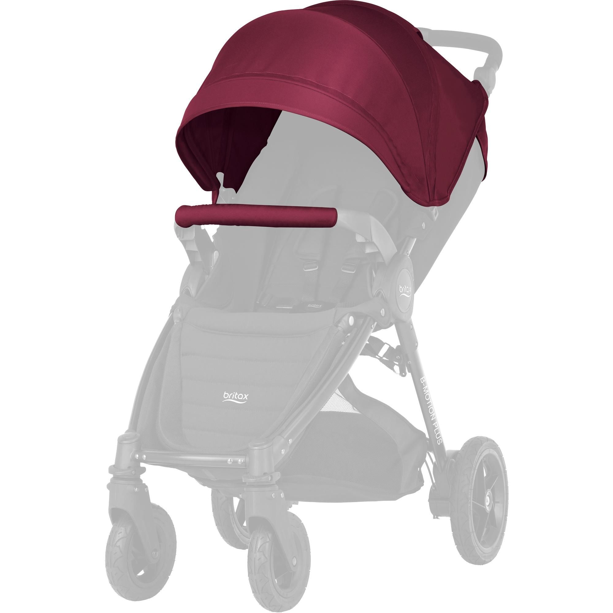 Britax farebný SET ku kočíkom B-Agile plus/B-Motion plus - Wine Red