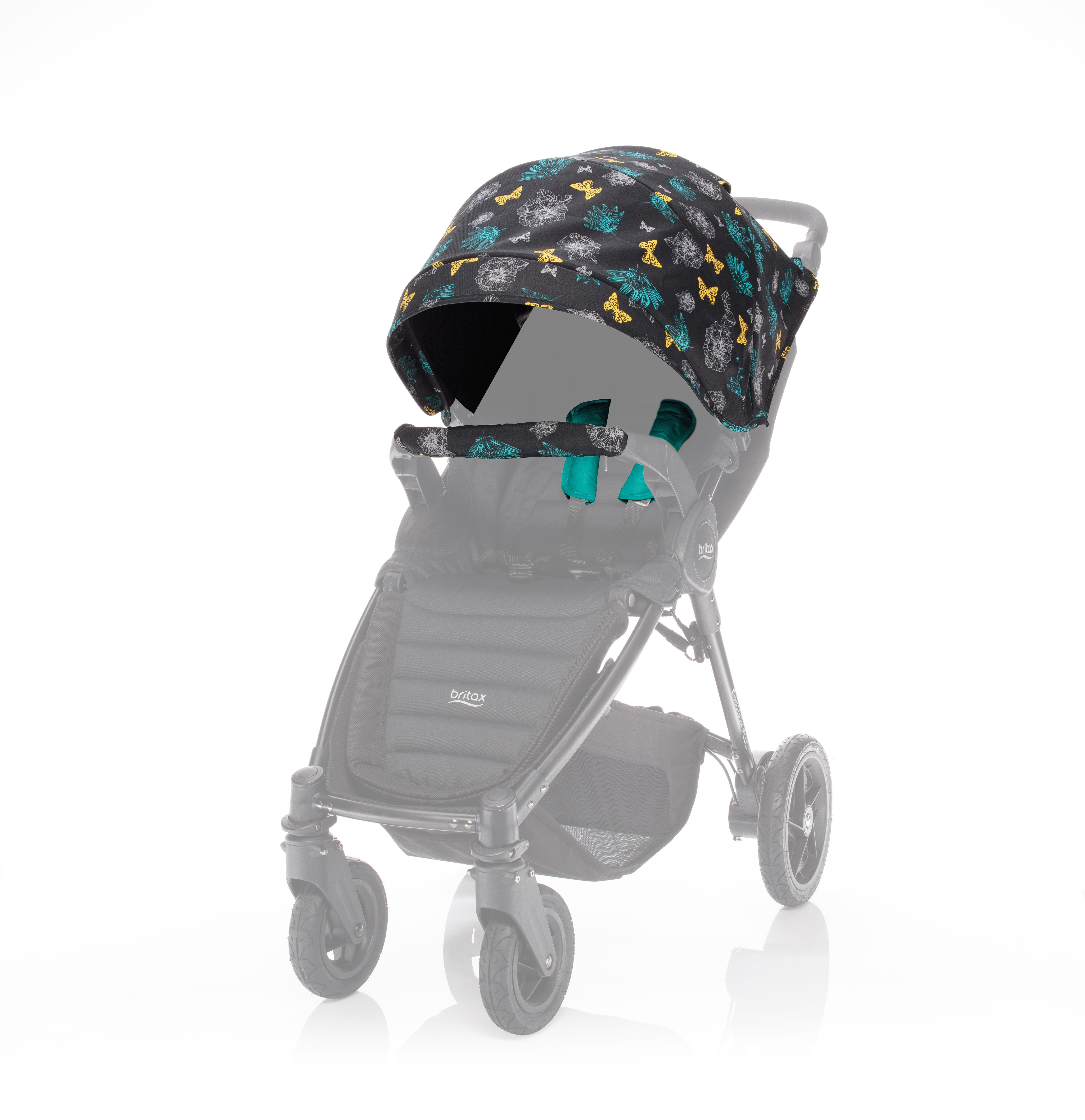 Britax farebný SET LIMITED ku kočíkom B-Agile plus/B-Motion plus - Butterfly Flowers